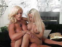 Big Boobs, Blonde, Femdom, Lesbian