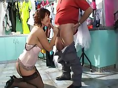 Hardcore, Lingerie, Mature, Stockings