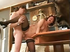 Cumshot, German, Hardcore, Old and Young