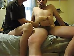 French, Amateur, Handjob, Old and Young