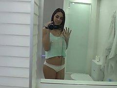 Teen, POV, Webcam, Brunette