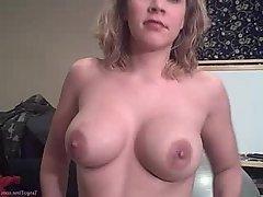 Amateur, Big Tits, Blonde, Blowjob