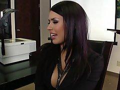 Office, Brunette, Big Tits, Hardcore