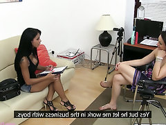 Babe, Big Tits, Casting, Secretary