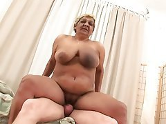 Big tits oma granny, grandma,