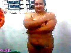 Amateur, BBW, Shower, Indian