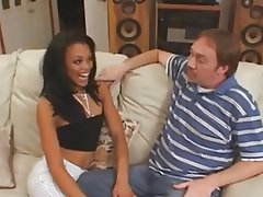 Blowjob, Interracial, Old and Young